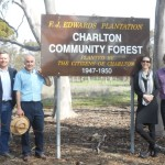 NRCL directors and Charlton sign unveiling